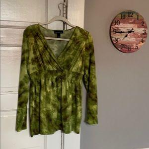 Women's classy INC International Concepts blouse.